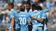 Lazio celebrating Lazio Sampdoria Serie A