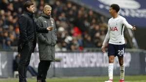Pochettino Alli Tottenham Arsenal