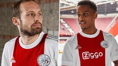 Ajax 2021-22 home kit
