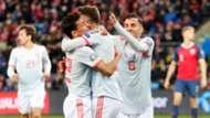 Saul Niguez Norway Spain Noruega España Euro 2020 12102019
