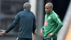 Bafana Bafana, Stuart Baxter & Dino Ndlovu