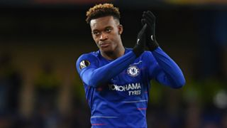 Callum Hudson-Odoi Chelsea Europa League 2019