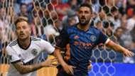 David Villa Jordan Harvey New York City FC Vancouver Whitecaps MLS
