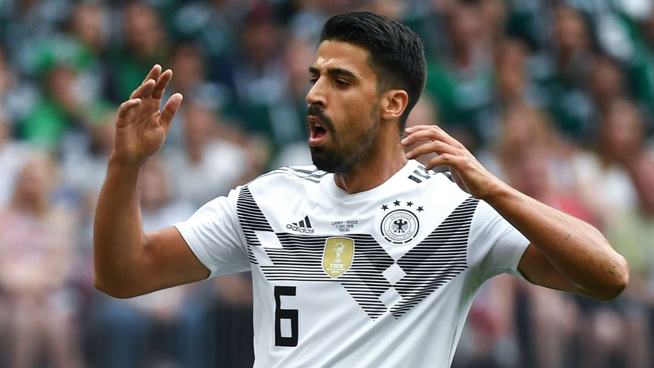 Sami Khedira Germany Mexico World Cup 2018