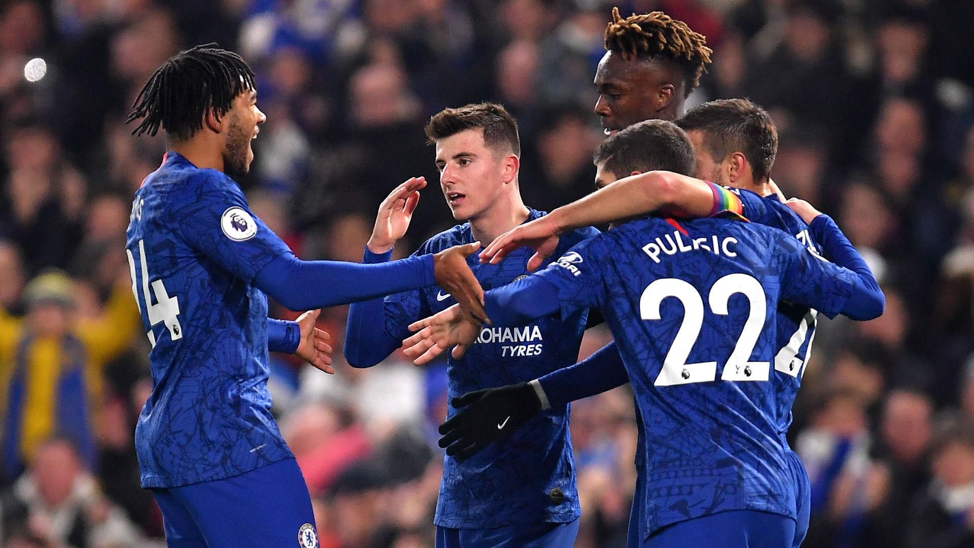 Chelsea goal Abraham 2019