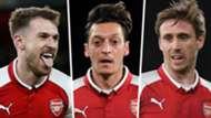 Arsenal players of season