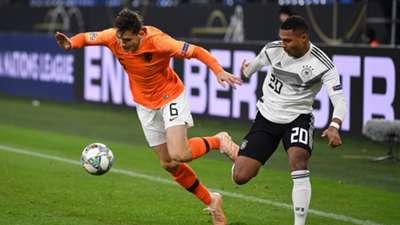 Serge Gnabry Germany Netherlands