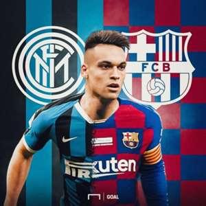 (Chuyển nhượng) Huyền thoại Inter hé lộ vụ Barca dạm mua Lautaro Martinez