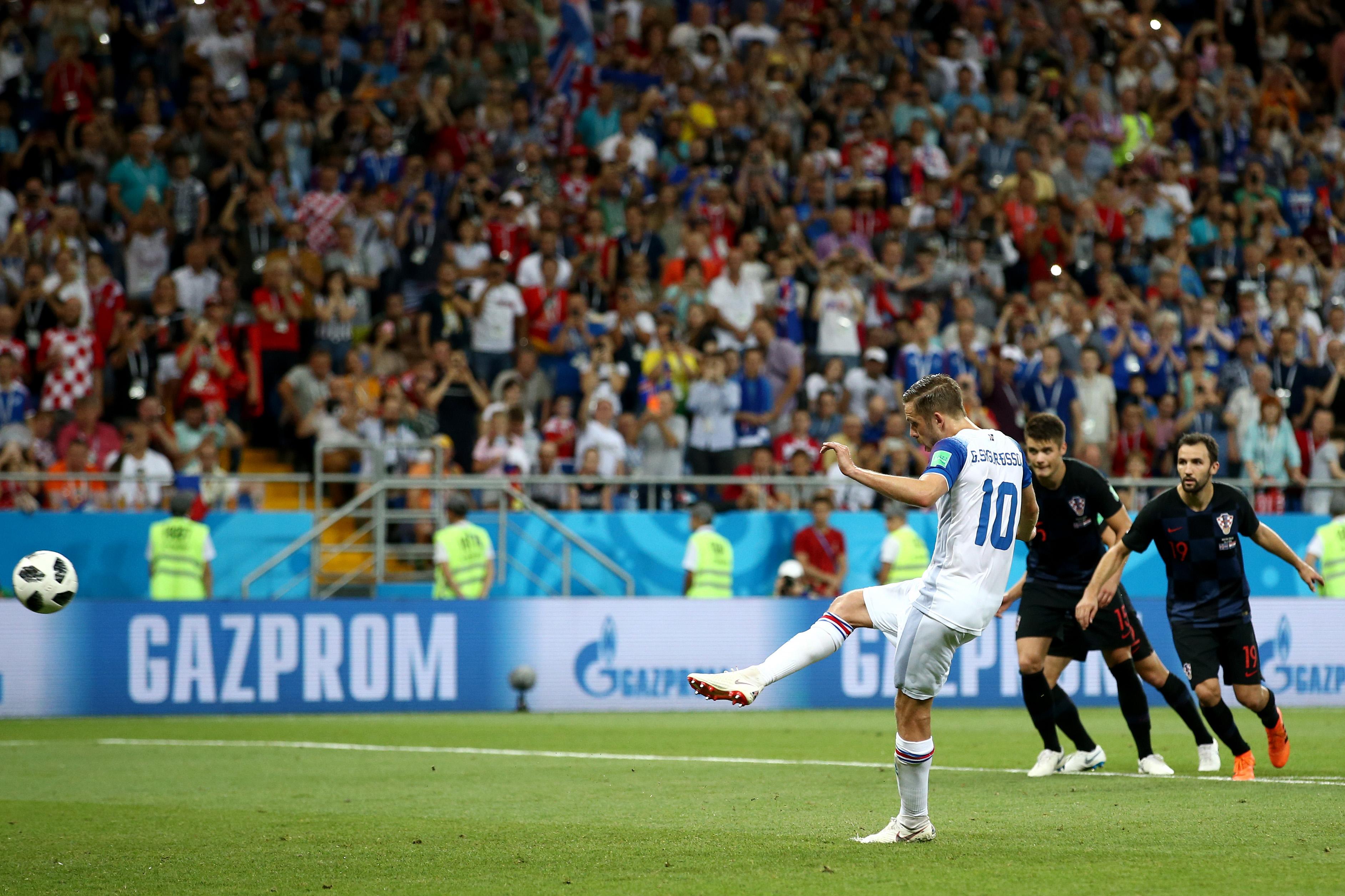 Gylfi Sigurdsson Iceland World Cup