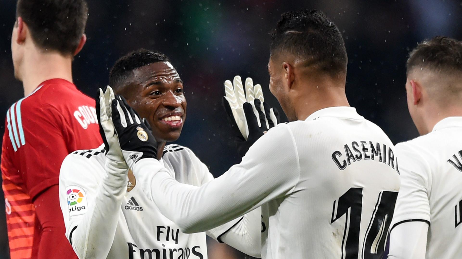 Vincius Junior Real Madrid 2018-19