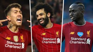 Firmino Salah Mane Liverpool 2020
