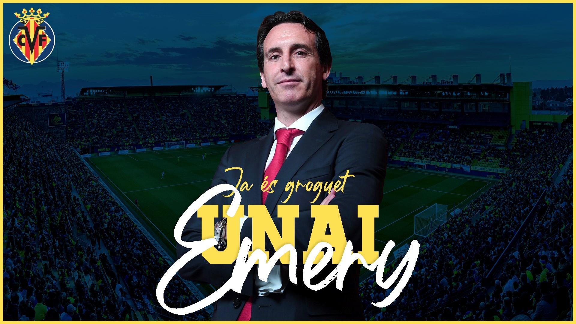Unai Emery est le nouvel entraîneur de Villarreal — La Liga