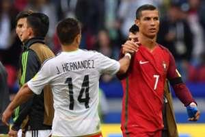 Chicharito vs Cristiano Ronaldo
