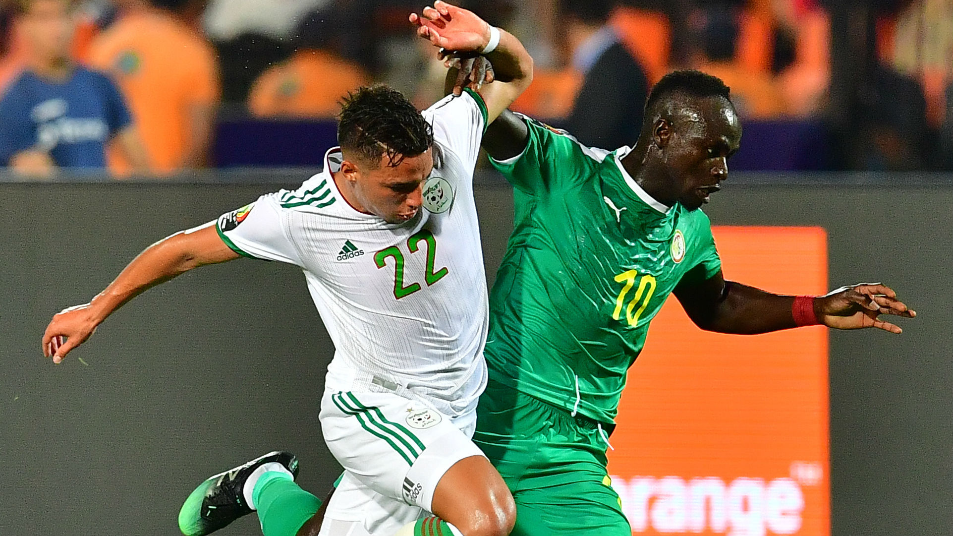 Ismael Bennacer Algeria Sadio Mane Senegal