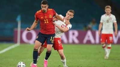 Kacper Kozlowski Poland Spain EURO