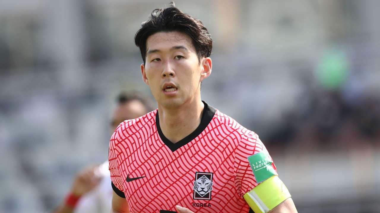 Heung-min Son South Korea 2021