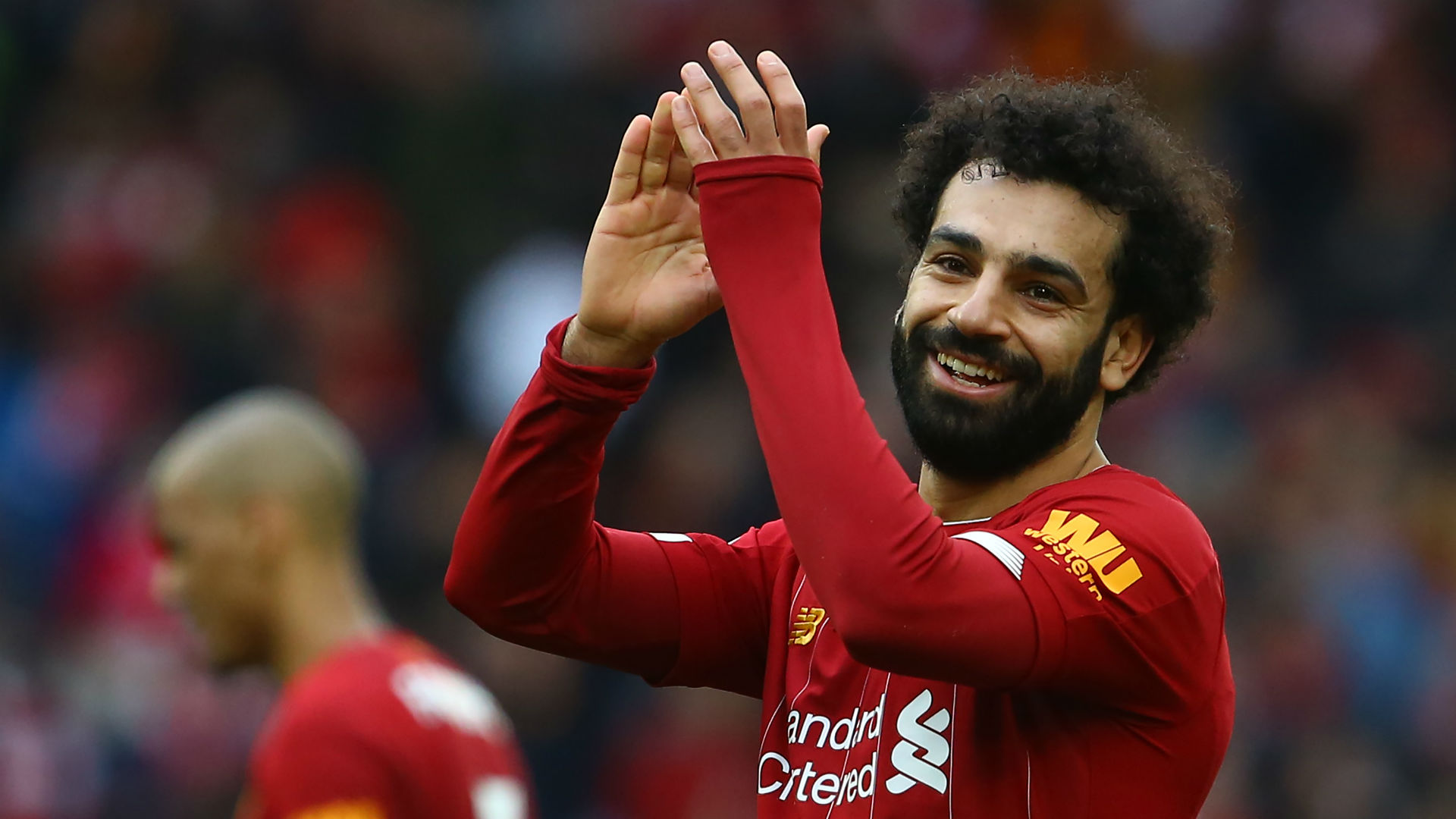 Salah critics shrugged off by Henderson as Liverpool skipper salutes fearsome front three