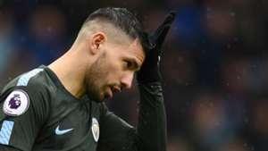 Sergio Aguero Manchester City Burnley