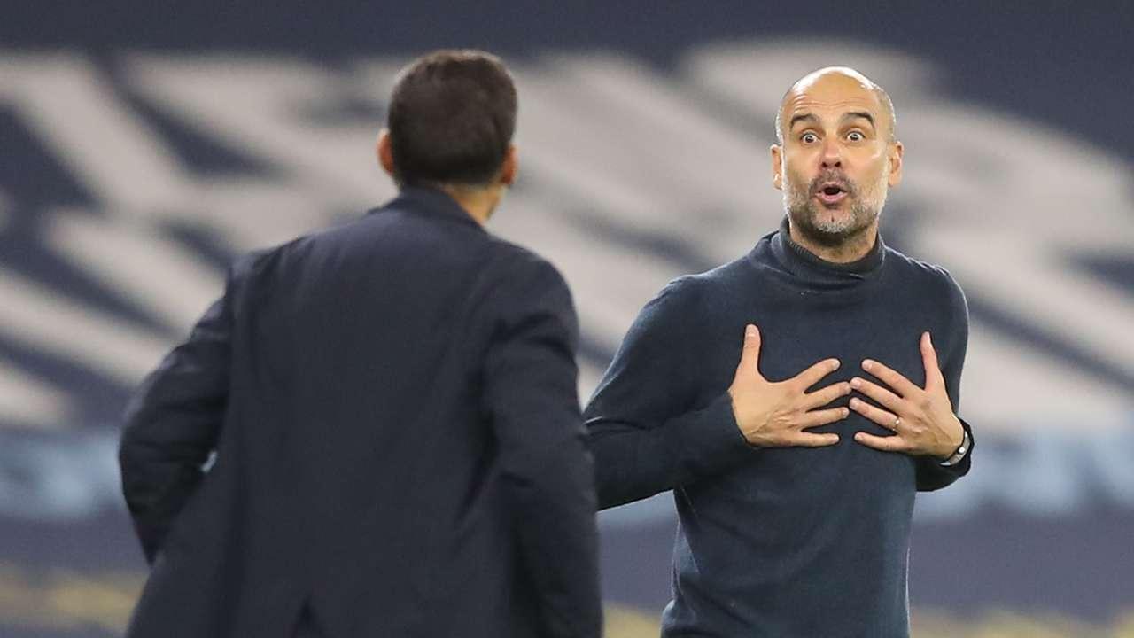 Pep Guardiola Manchester City 2020-21