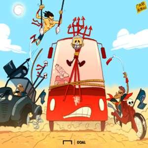 Cartoon: Mourinho Mad Max
