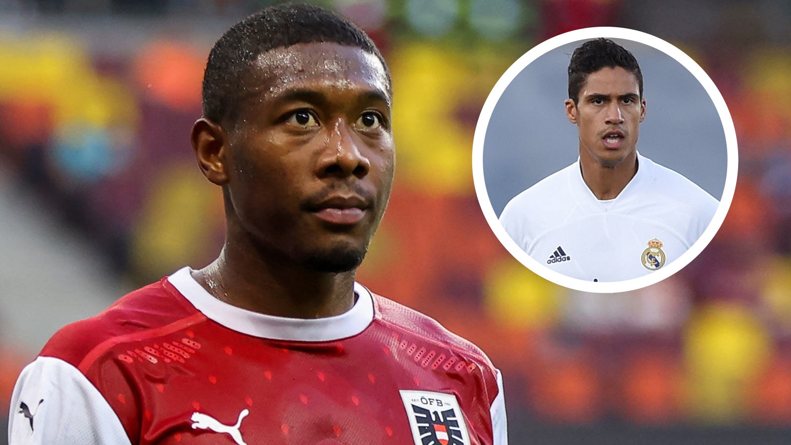 Alaba eager to play alongside Man Utd-linked Varane after completing Real Madrid move