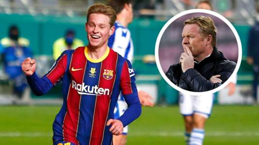 'I do not see myself playing in defence for the rest of my career' – Frenkie de Jong has no interest in emulating Ronald Koeman at Barcelona | Goal.com
