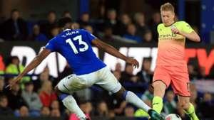 Yerry Mina Everton Manchester City Premier League 2019