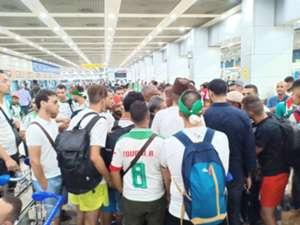 Algeria fans Cairo