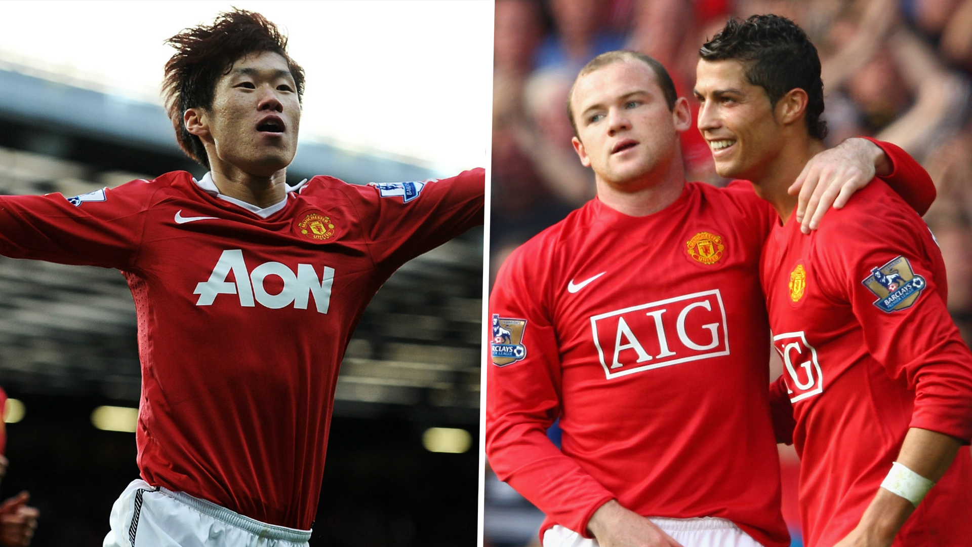 Park just as important to Man Utd as Cristiano Ronaldo, Rooney claims