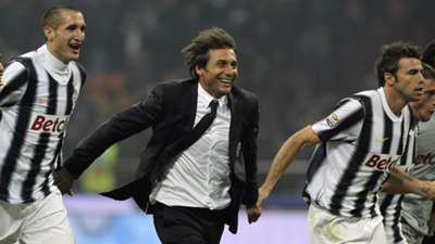 Chiellini Conte Barzagli Juventus