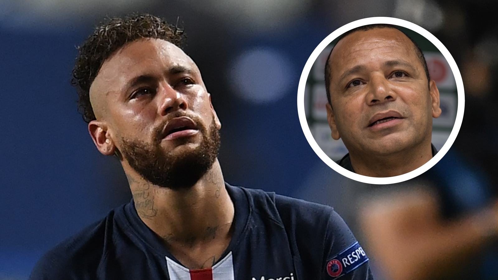 Neymar's father hits back at Caen manager's 'crying' taunt after PSG star's injury