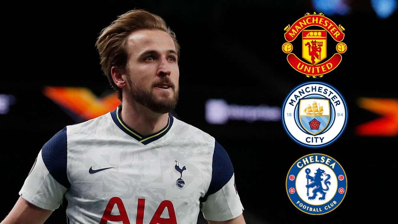 Kane, Man Utd, City, Chelsea