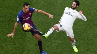 Sergio Busquets Isco Barcelona - Real Madrid LaLiga 10282018