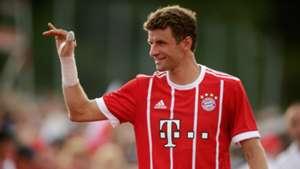 Thomas Muller Bayern Munich 17/18 pre-season