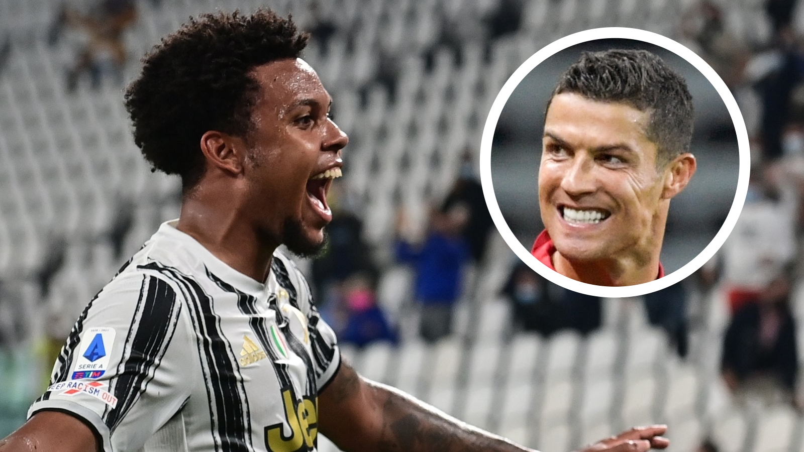 USMNT star McKennie recalls first time he met Ronaldo and reveals nickname Portugal legend has given him