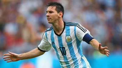 Lionel Messi 2014 World Cup