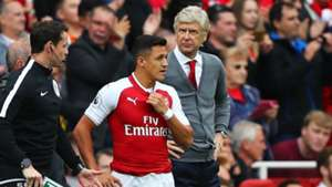Alexis Sanchez Arsene Wenger Arsenal Bournemouth