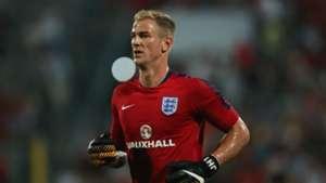Joe Hart England Malta