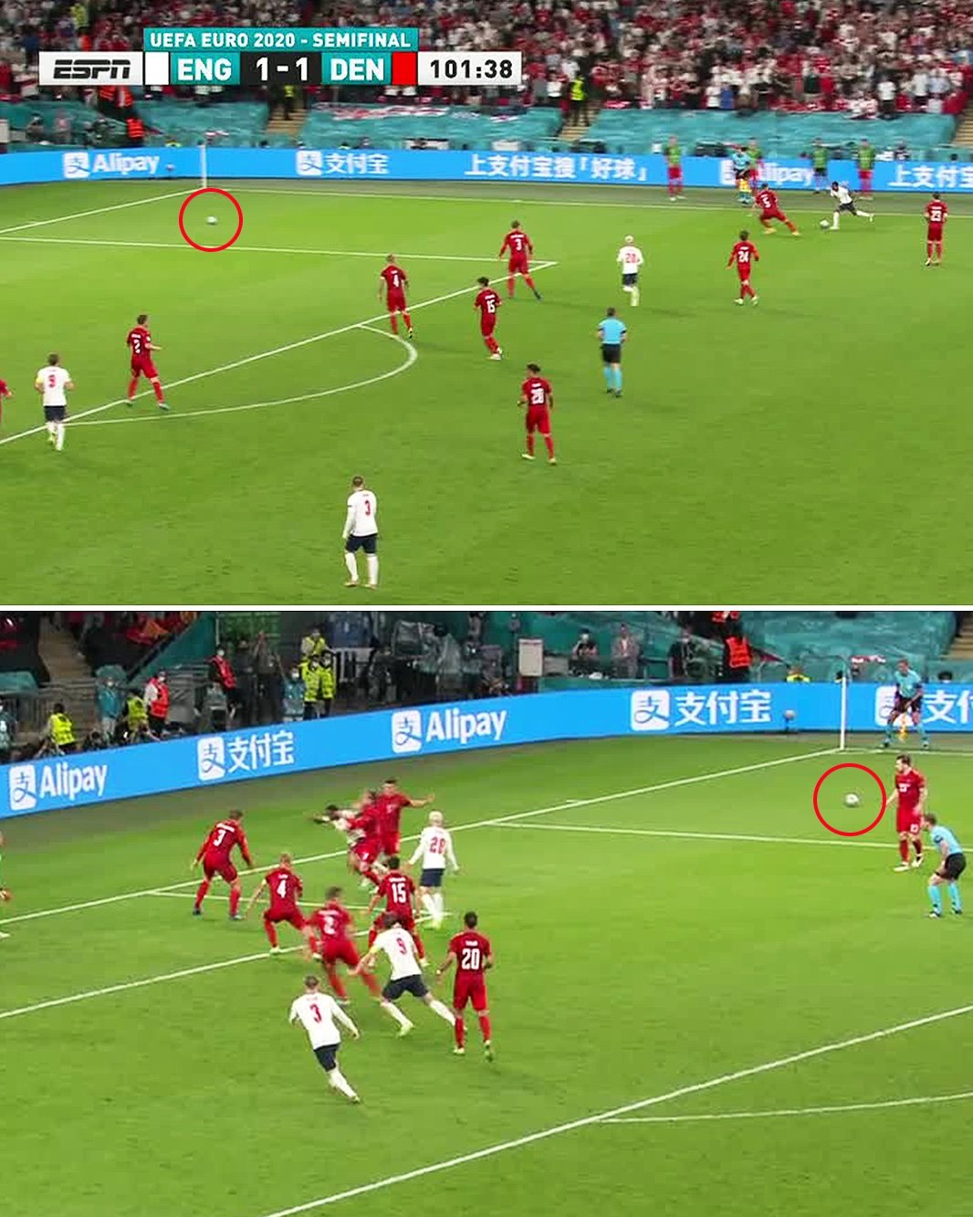 Euro 2020: What was the controversy behind Raheem Sterling's penalty win for England against Denmark?