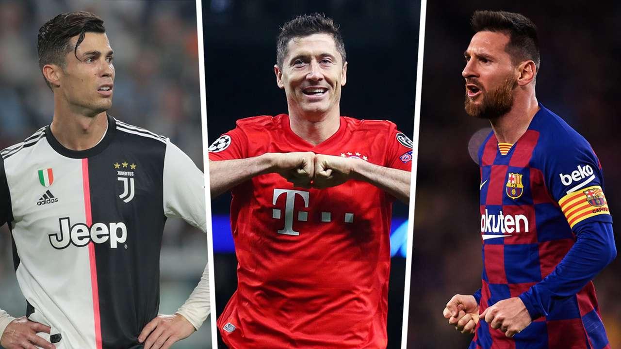 Ronaldo Lewandowski Messi
