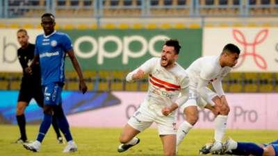 Mahmoud Hamdy El Wensh Al Zamalek Aswan EPL 2020-2021