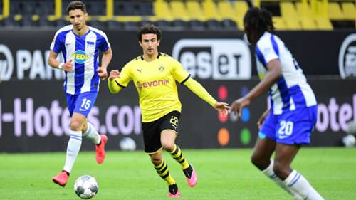 ONLY GERMANY Mateu Morey Borussia Dortmund Hertha BSC Bundesliga 2020
