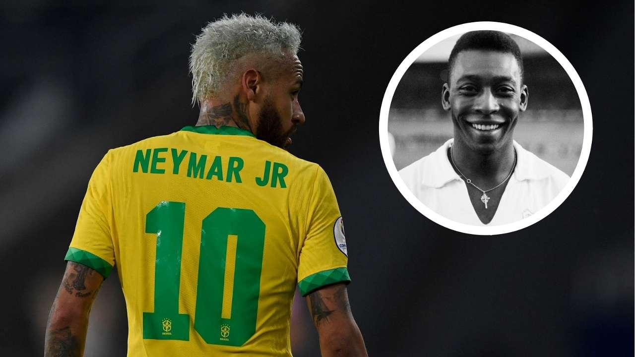 Neymar Pele GFX Brazil