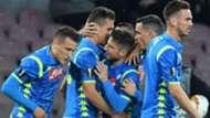 Milik Mertens Napoli Salzburg Europa League
