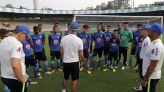 Brazil U17 training