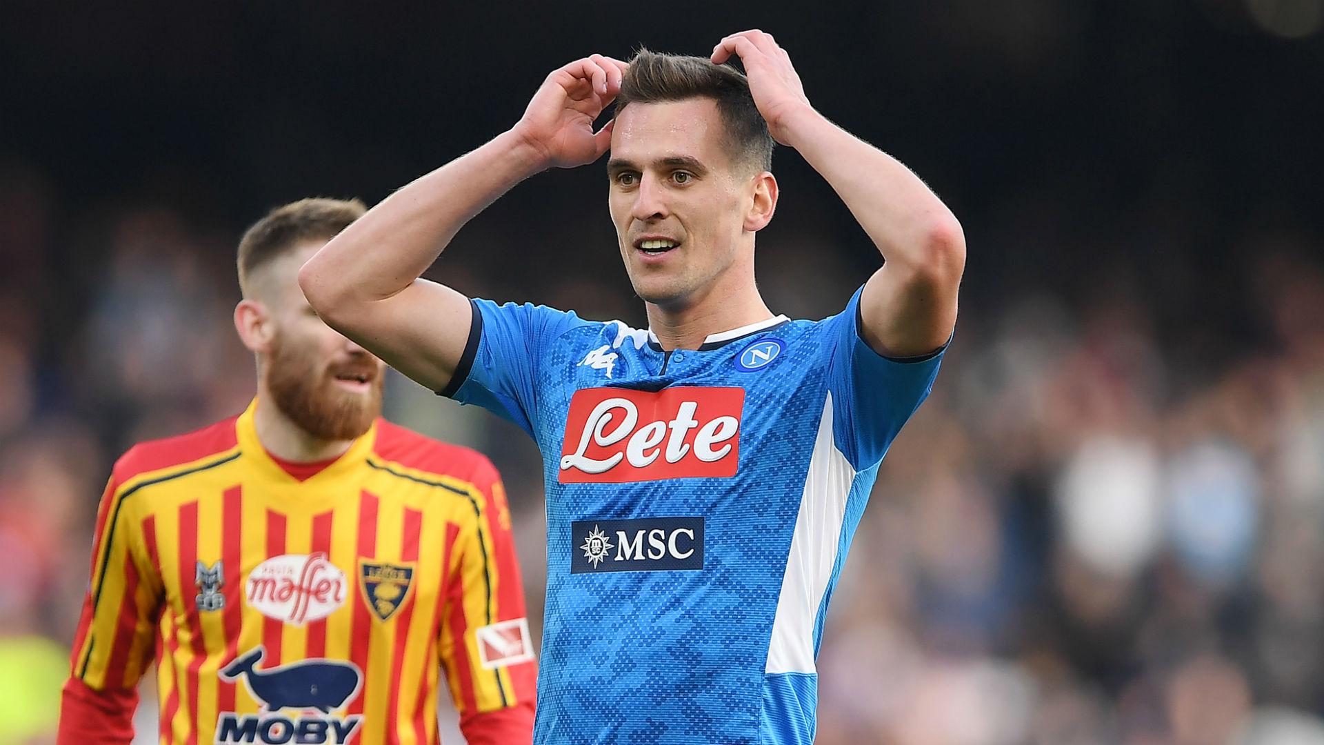 Milik set for Napoli exit, confirms Gattuso