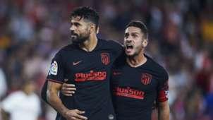 Costa y Koke Sevilla Atlético de Madrid 02112019