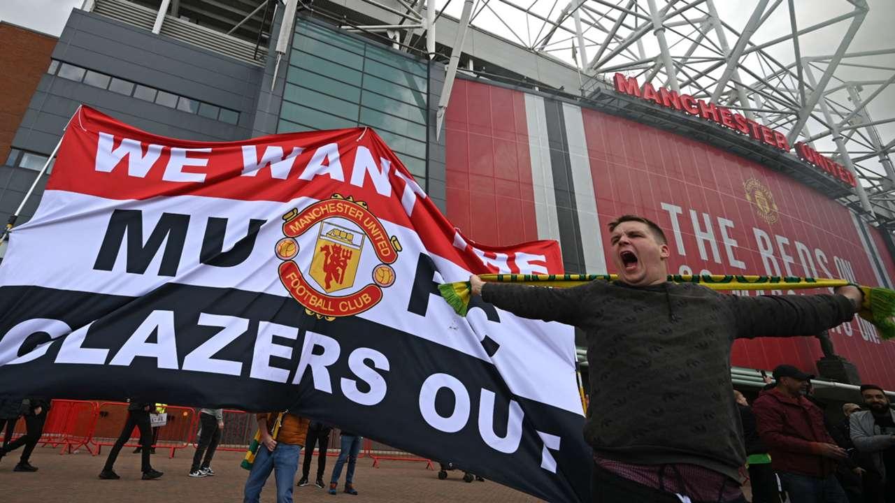 CNR: Manchester United fans, Old Trafford, Glazer protests