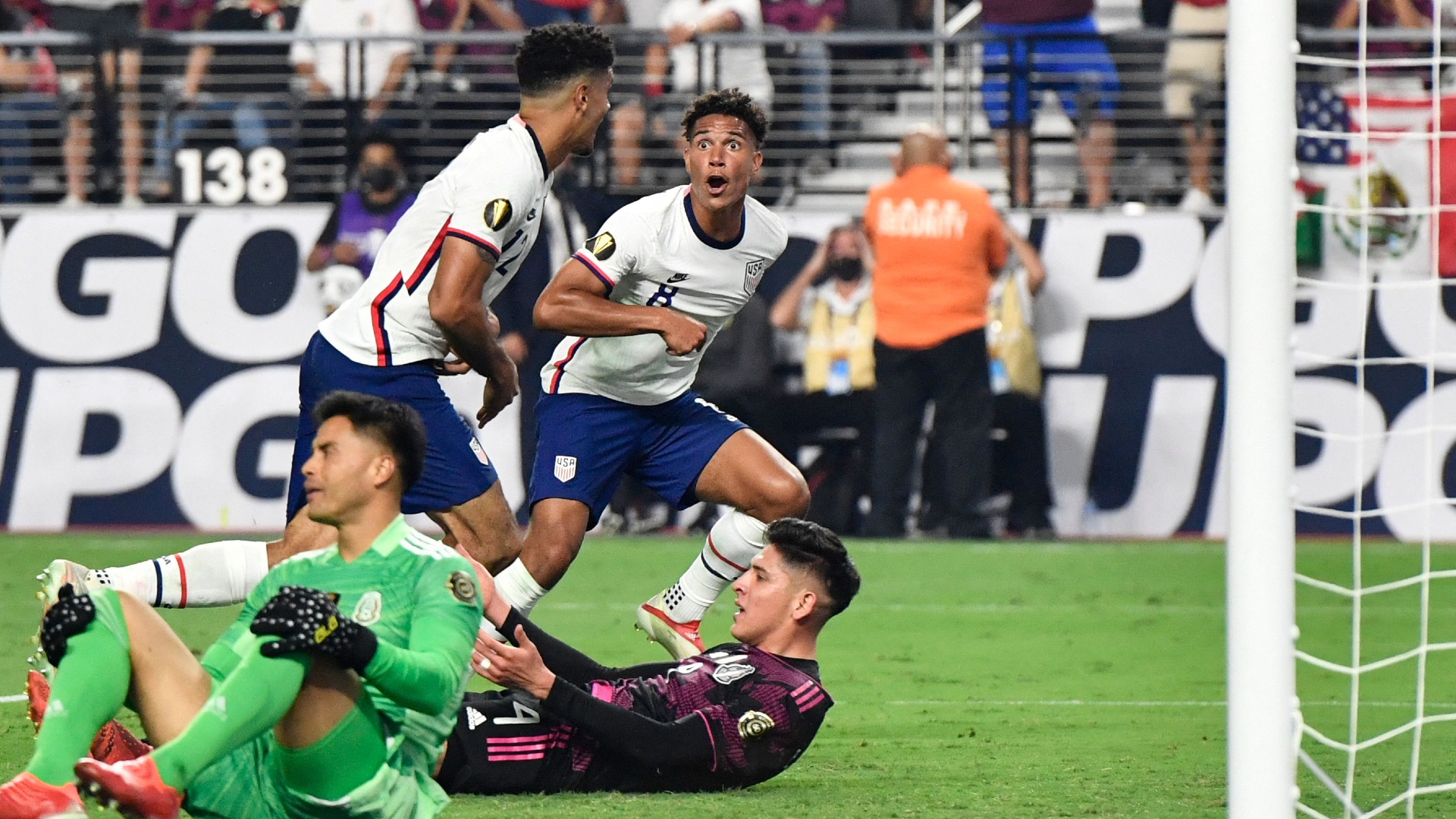 'Dos a Cero!' - USMNT shocks Mexico in extra time once again to seal second trophy of summer