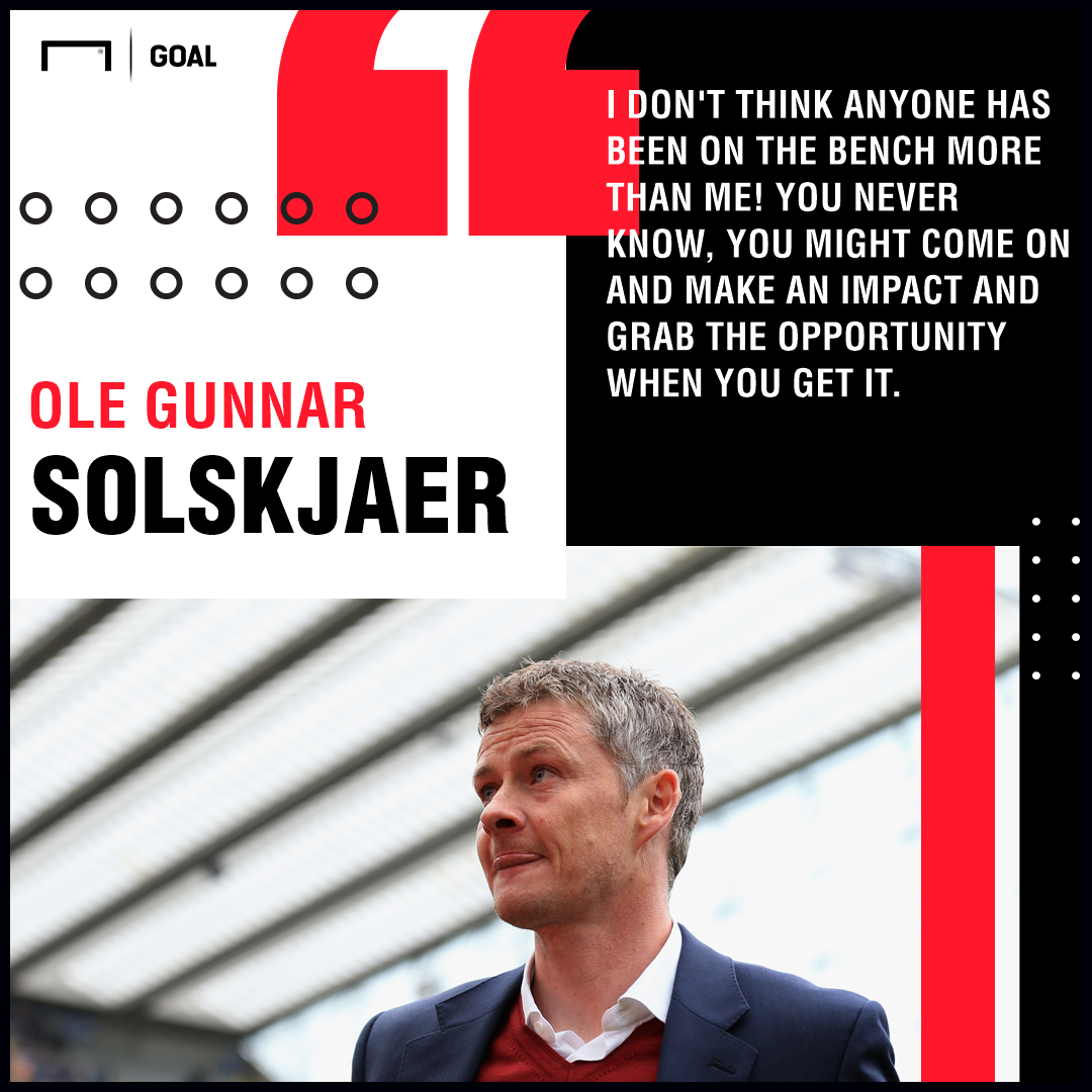Ole Gunnar Solskjaer on substitutes